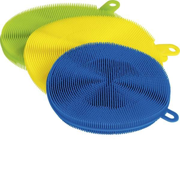 Pulizia dei pavimenti e accessori - Clean maxx cuscinetto detergente in silicone kit 3 pz. -