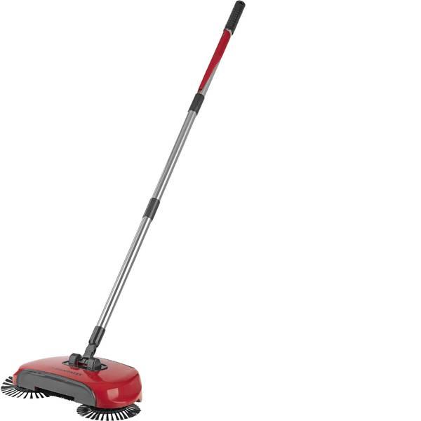Pulizia dei pavimenti e accessori - Clean maxx bodenkehrer con 3 spazzole rosso 02126 -