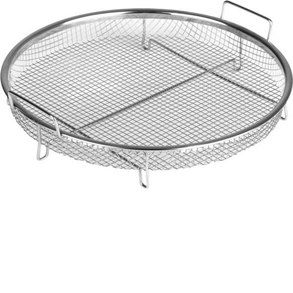 Elettrodomestici e altri utensili da cucina - Cestino per griglia GourmetMaxx Heißluft-Grillrost 02231 Acciaio -