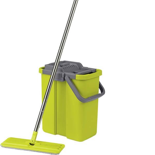 Pulizia dei pavimenti e accessori - Clean maxx sistema di pulizia Komfort-Mopp - Grigio/verde 09996 -
