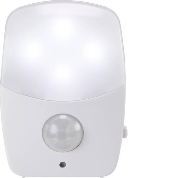 Luci notturne - Basetech BT-NL50PB BT-1678281 Lampada da notte con rilevatore di movimento Rettangolare LED Bianco freddo Bianco -
