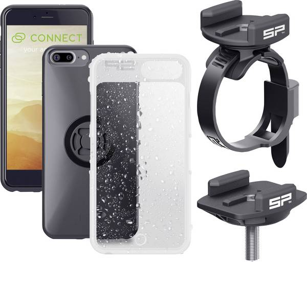 Altri accessori per biciclette - Supporto da manubrio per smartphone SP Connect SP BIKE BUNDLE IPHONE 8+/7+/6S+/6+ Nero -
