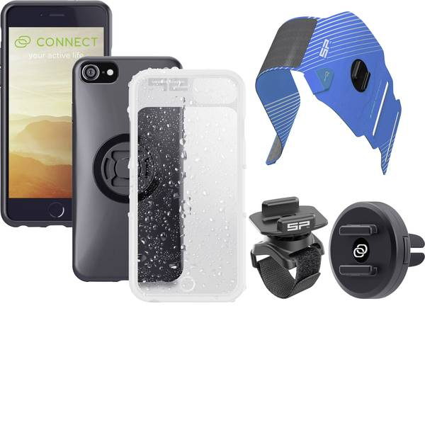 Altri accessori per biciclette - Supporto da manubrio per smartphone SP Connect SP MULTI ACTIVITY BUNDLE IPHONE 8/ 7/6S/6 Nero -