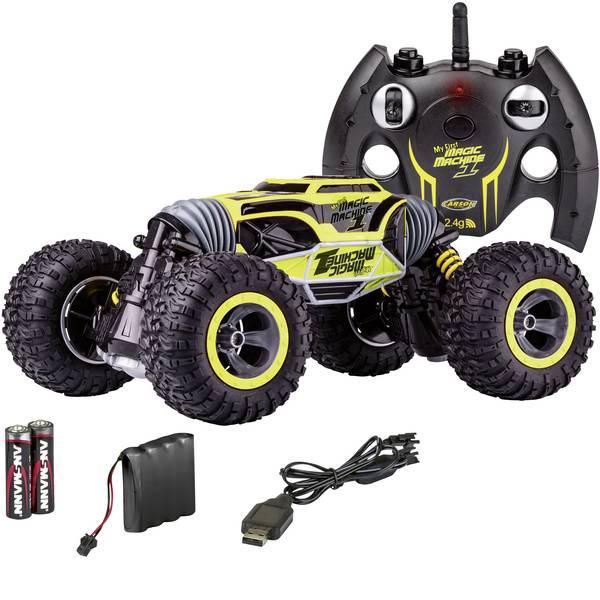 Auto telecomandate - Carson Modellsport 500404201 My First Magic Machine 1:10 Automodello per principianti Elettrica Monstertruck 4WD incl.  -