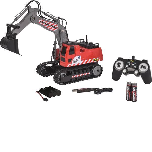 Trattori e mezzi da cantiere RC - Escavatore cingolato Modellino per principianti Carson Modellsport 1:26 Veicolo incl. Batteria, caricatore e batterie  -
