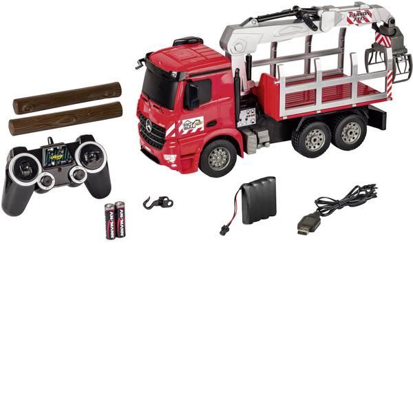 Trattori e mezzi da cantiere RC - Legno Modellino per principianti Carson Modellsport 1:20 Veicolo agricolo incl. Batteria, caricatore e batterie  -