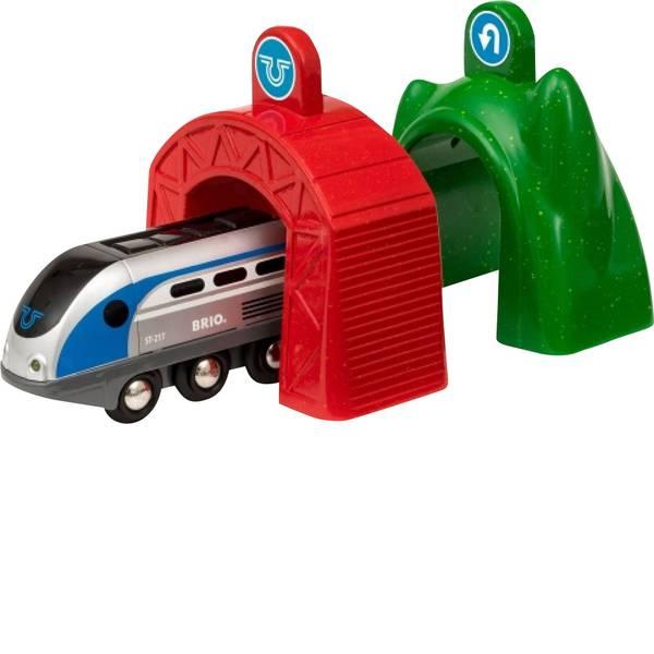 Trenini e binari per bambini - Brio Smart Tech Zug mit Actionportalen 33834 -