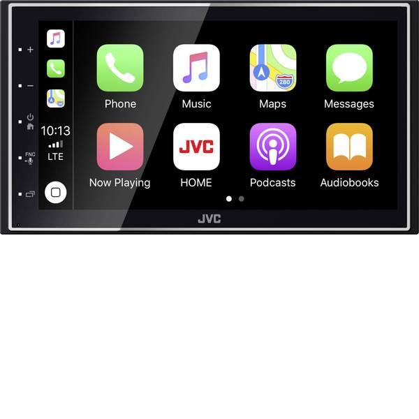 Autoradio e Monitor multimediali - JVC KWM745DBT Moniceiver doppio DIN Collegamento per controllo remoto da volante, Collegamento per telecamera  -
