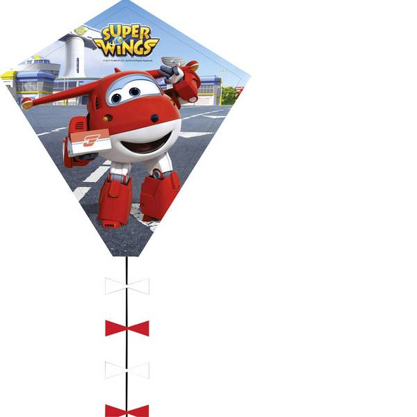 Aquiloni - Aquilone statico Monofilo HQ Super wings Eddy Larghezza estensione 450 mm Intensità forza del vento 2 - 5 bft -