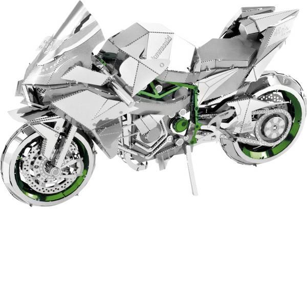 Kit di montaggio Metal Earth - Kit di metallo Metal Earth Iconx Kawasaki Ninja Green -