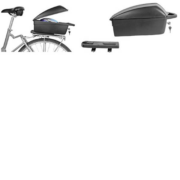 Borse da bicicletta - Polisport 051 201 01 Bauletto per portapacchi Nero -