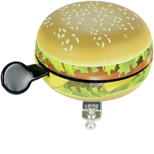 Altri accessori per biciclette - Campanello per bicicletta Widek Glocke Food Hamburger Colorato -