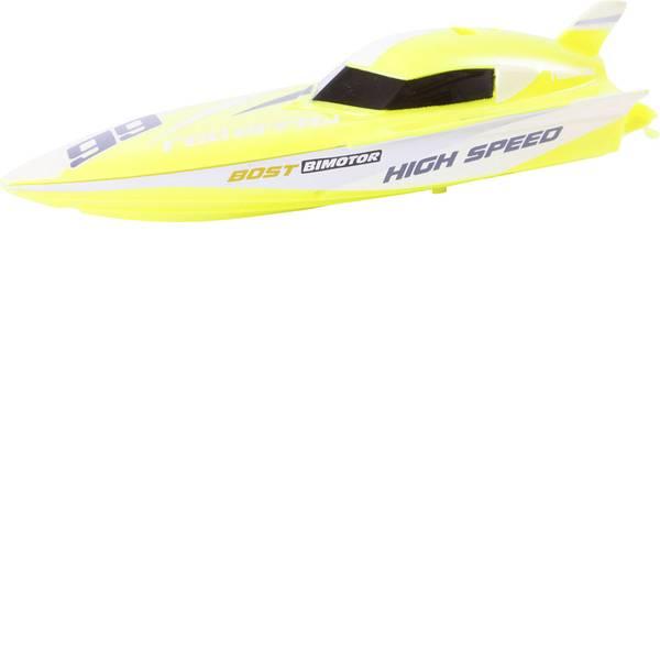 Barche telecomandate - Invento Mini Power Boat Yellow Barca a motore per principianti RtR 150 mm -