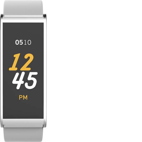 Dispositivi indossabili - Fitness Tracker MyKronoz ZEFIT4 Col. corpo: Bianco Colore (braccialetto): Argento -