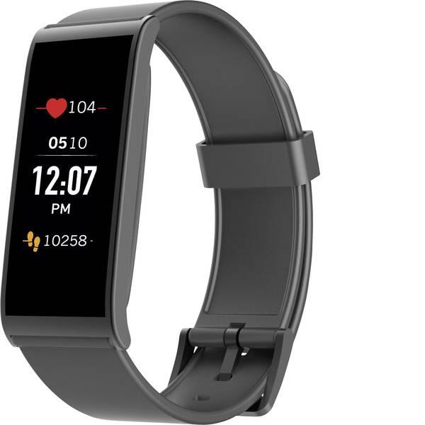Dispositivi indossabili - Fitness Tracker MyKronoz ZEFIT4 HR Col. corpo: Nero Colore (braccialetto): Nero -