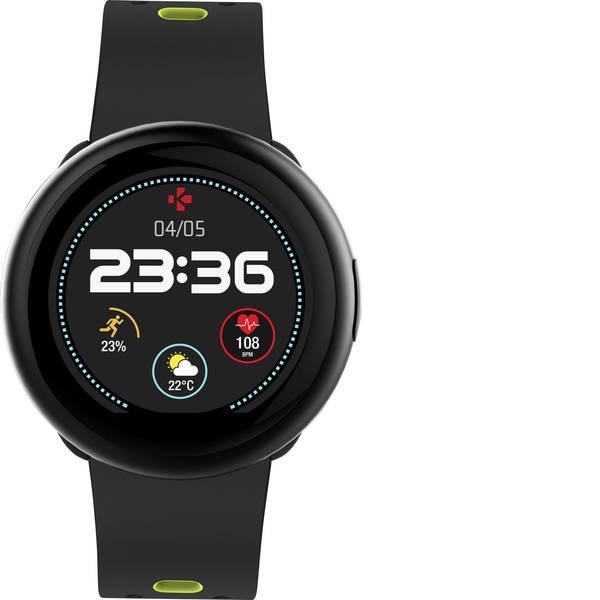 Dispositivi indossabili - Smartwatch MyKronoz ZEROUND2 HR PREMIUM Col. corpo: Argento Colore (braccialetto): Nero -