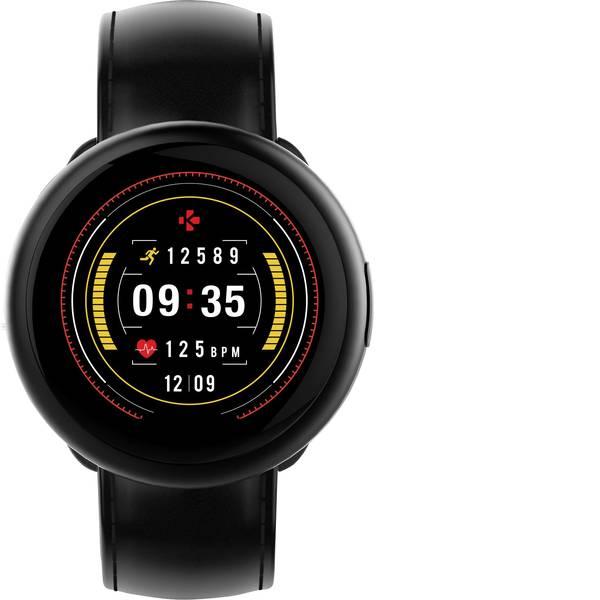 Dispositivi indossabili - Pallone da calcio Smart Ball MyKronoz ZEROUND2 HR PREMIUM Col. corpo: Nero Colore (braccialetto): Nero -