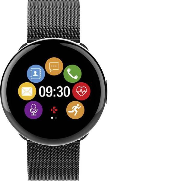 Dispositivi indossabili - Smartwatch MyKronoz ZEROUND2 HR ELITE Col. corpo: Nero Colore (braccialetto): Nero -