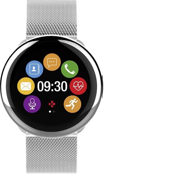 Dispositivi indossabili - Smartwatch MyKronoz ZEROUND2 HR ELITE Col. corpo: Argento Colore (braccialetto): Argento -