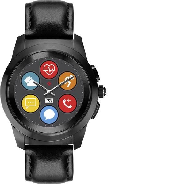 Dispositivi indossabili - Smartwatch MyKronoz ZETIME PREMIUM REGULAR Col. corpo: Nero Colore (braccialetto): Nero -