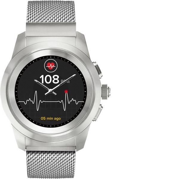 Dispositivi indossabili - Smartwatch MyKronoz ZETIME ELITE PETITE Col. corpo: Argento Colore (braccialetto): Argento -