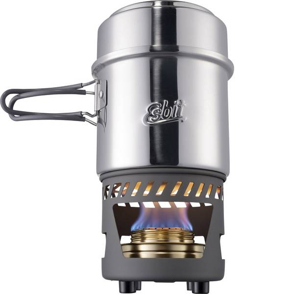 Fornelli da campeggio - Fornello da campeggio Esbit Spirit cook CS985ST Alluminio, Acciaio inox -