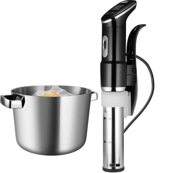 Elettrodomestici e altri utensili da cucina - Sistema cottura sottovuoto Unold Sous Vide Stick Time Nero, Argento -