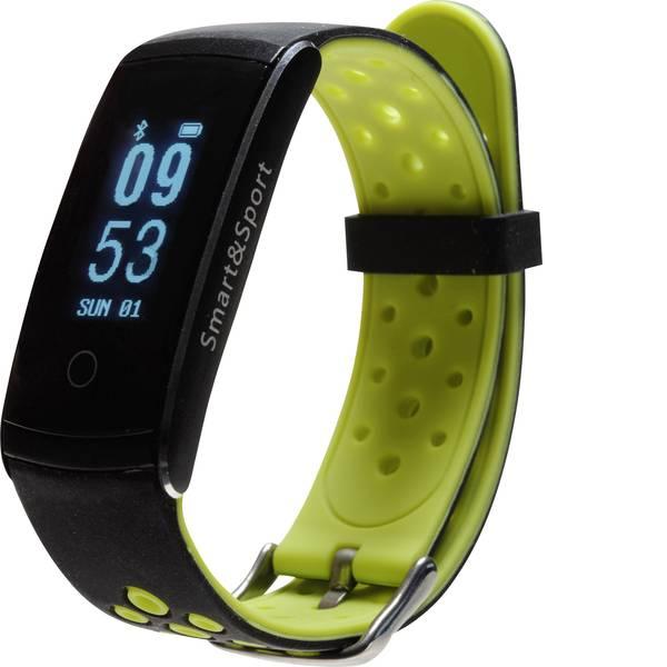 Dispositivi indossabili - Denver BFH-13 Fitness Tracker Nero, Verde -