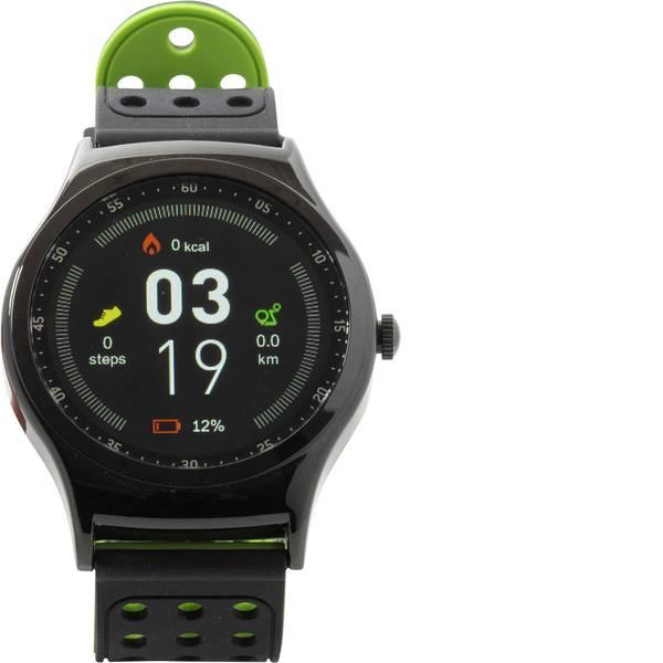 Dispositivi indossabili - Denver SW-450 Smartwatch Nero, Verde -