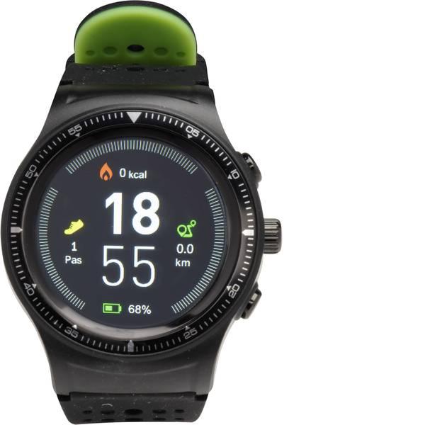 Dispositivi indossabili - Denver SW-500 Smartwatch Nero, Verde -