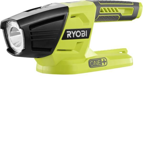 Torce con batterie ricaricabili - Ryobi 5133003373 Lampada portatile a batteria R18T-0 Verde (Neon), Nero LED -