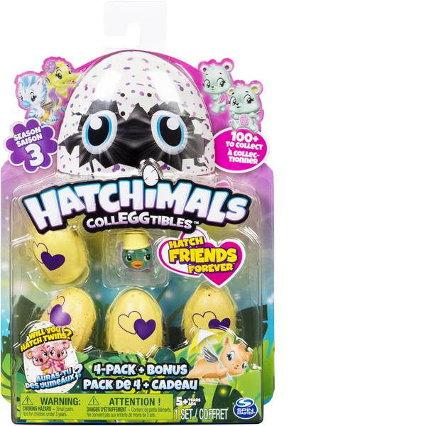 Animali di peluche - Spin Master Hatchimals Colleggtibles 4 pezzi + personaggio bonus -