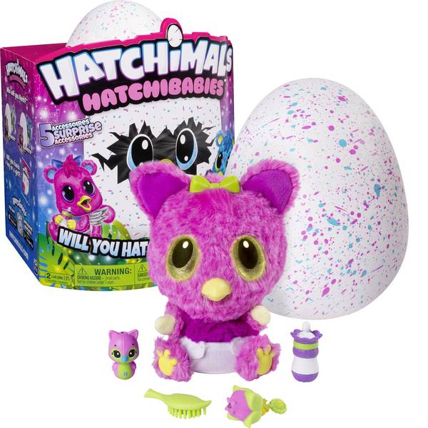 Animali di peluche - Spin Master Hatchimals HatchiBabies Cheetree -