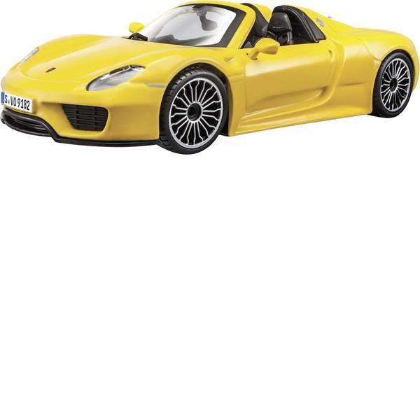 Modellini statici di auto e moto - Bburago Porsche 918 Spyder 1:24 Automodello -