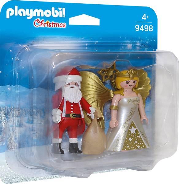 Personaggi da gioco - Play DuoPack mobile Babbo Natale e angelo -