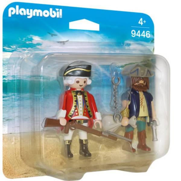 Personaggi da gioco - Play mobile confezione pirata e Soldato Ignoto -