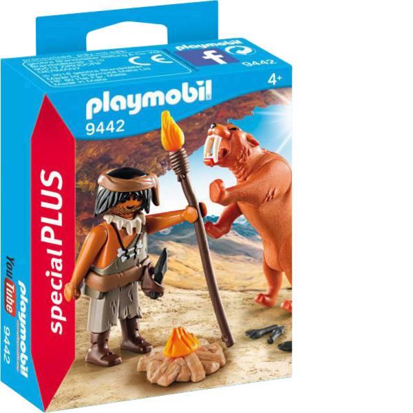 Personaggi da gioco - Neandertaler play mobile con denti sciabola Tiger -
