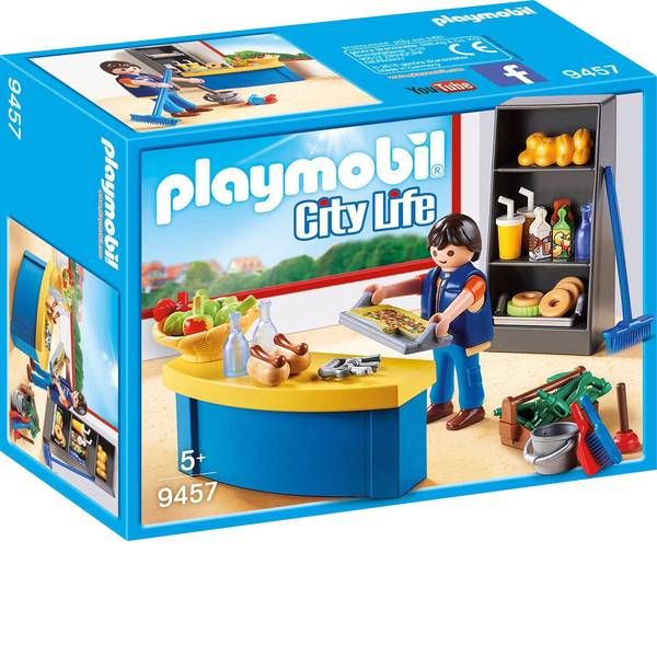 Personaggi da gioco - Play portiere di casa con chiosco mobile -
