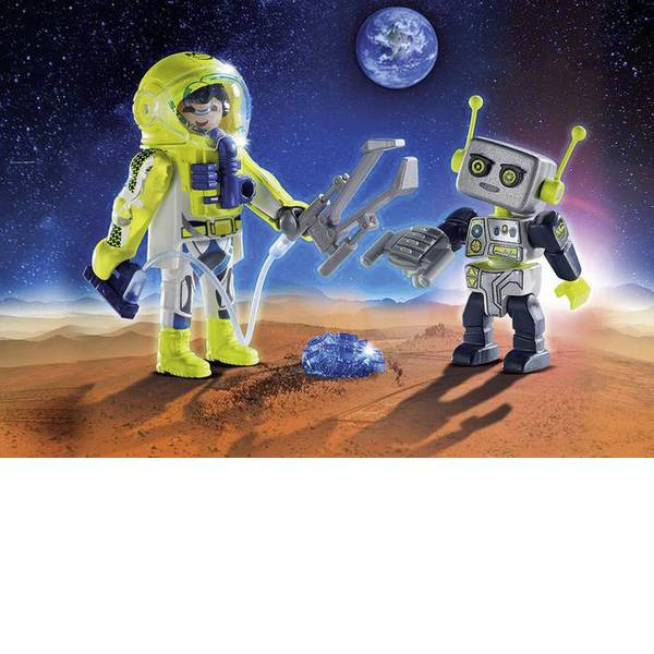 Personaggi da gioco - DuoPack Astronaut play e robot mobile -