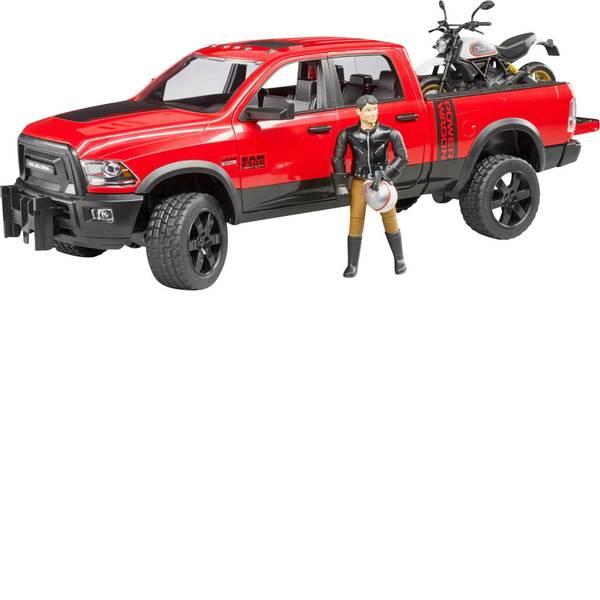 Veicoli senza telecomando - RAM 2500 Power Wagon Bruder con Ducati Desert sled e i piloti -