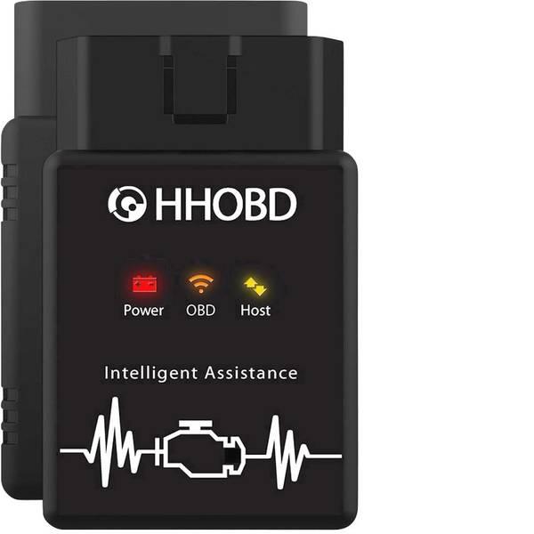 Tester, misuratori e scanner OBD - EXZA Strumento diagnostico OBD II HHOBD® WiFi (für iOS) 10599 illimitato -
