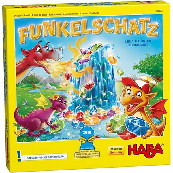 Giochi per bambini - Haba Funkelschatz - un gioco di raccolta -