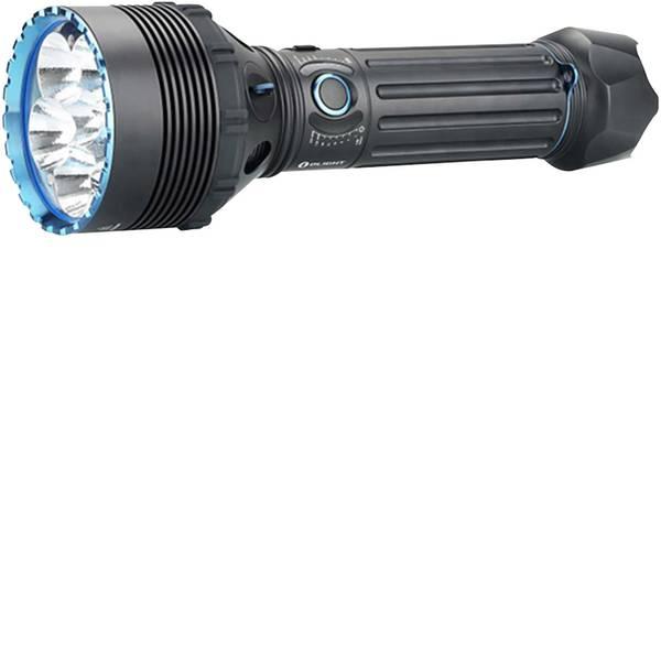 Torce tascabili - OLight X9R Marauder LED Torcia tascabile lungo raggio, regolabile, con valigetta a batteria ricaricabile 6400 lm 27 h  -