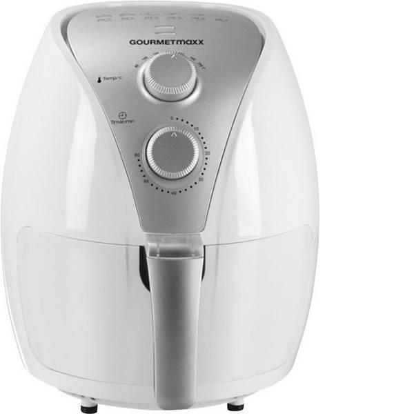 Friggitrici - GourmetMaxx Friggitrice 1300 - 1500 W Funzione aria calda Bianco -