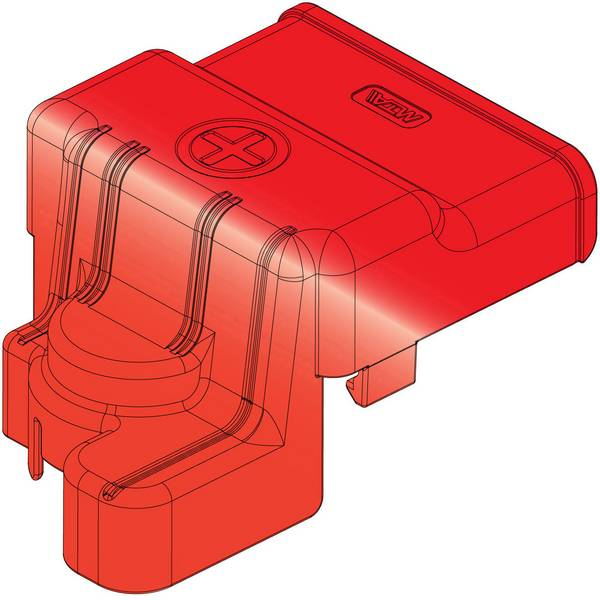 Morsetti batteria per auto - MTA 45.10503 Cover 1 pz. -
