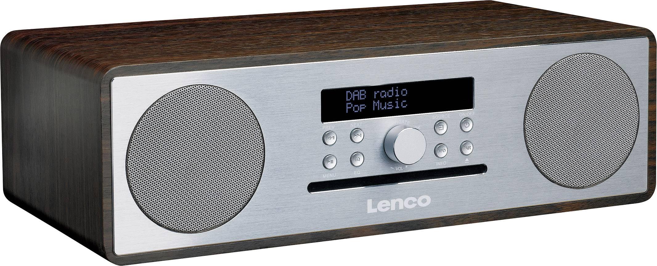 DAB+ Radio da tavolo Lenco DAR