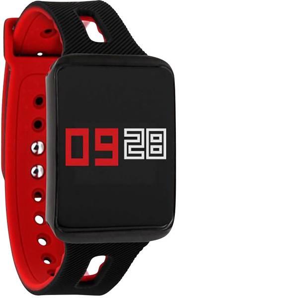 Dispositivi indossabili - Xlyne KETO XW FIT Smartwatch Nero/Rosso -