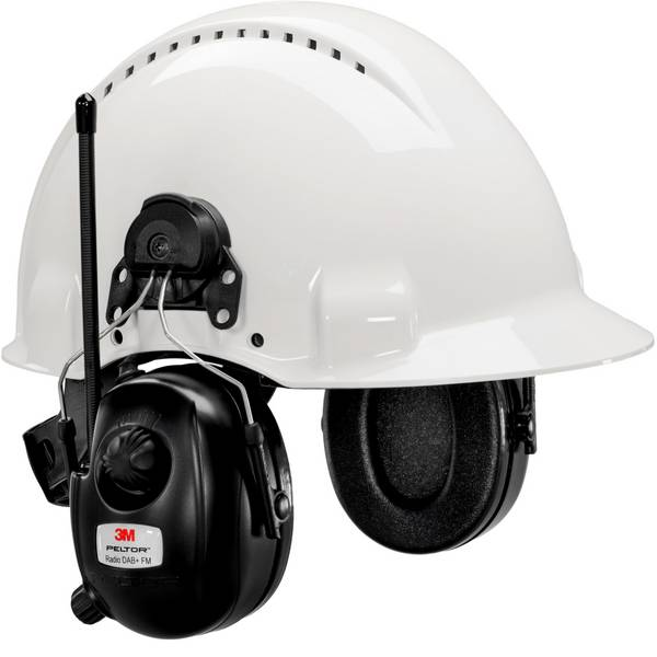 Cuffie da lavoro - Cuffia antirumore elettronica 30 dB 3M Peltor HRXD7P3E-01 1 pz. -