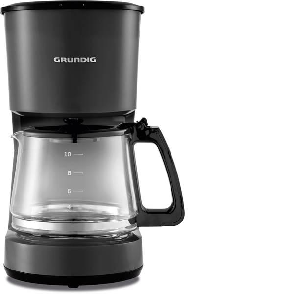 Macchine dal caffè con filtro - Grundig KM 4620 Macchina per il caffè Nero Capacità tazze=10 Caraffa in vetro, Funzione mantenimento calore -