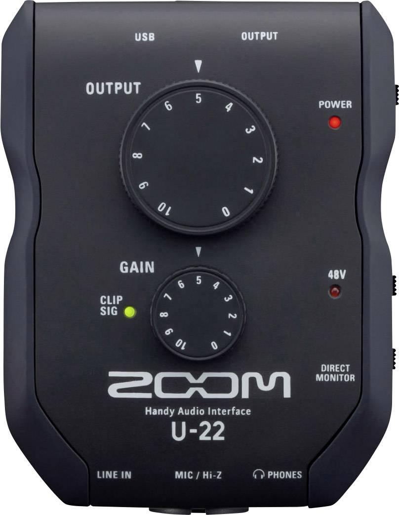 Interfaccia audio Zoom U-22 Co